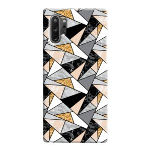 Geometric Black and Gold Marble Samsung Galaxy Note 10 Case