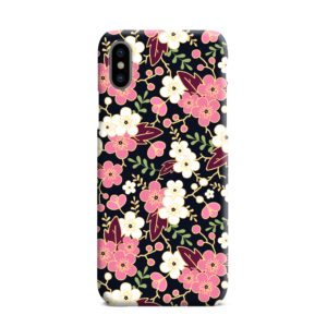 Japanese Cherry Blossom Garden iPhone XS Max Case Cover