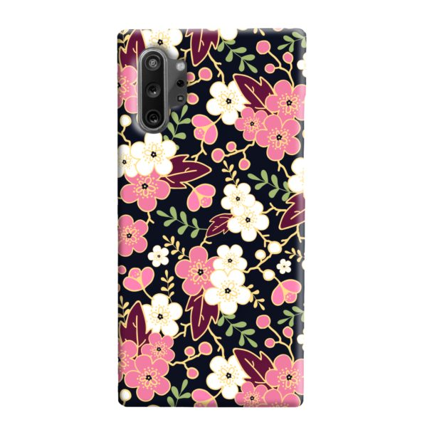 Japanese Cherry Blossom Garden Samsung Galaxy Note 10 Plus Case
