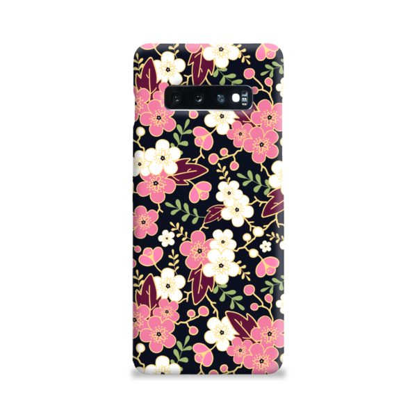 Japanese Cherry Blossom Garden Samsung Galaxy S10 Plus Case Cover