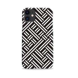 Monochrome Geometric Patterns iPhone 11 Case Cover