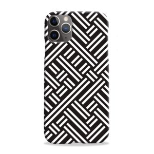 Monochrome Geometric Patterns iPhone 11 Pro Max Case Cover