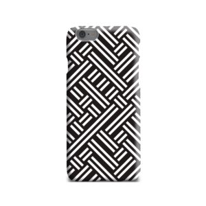 Monochrome Geometric Patterns iPhone 6 Case