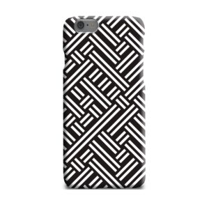 Monochrome Geometric Patterns iPhone 6 Plus Case Cover