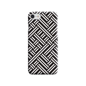 Monochrome Geometric Patterns iPhone 7 Case