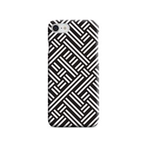Monochrome Geometric Patterns iPhone 8 Case Cover