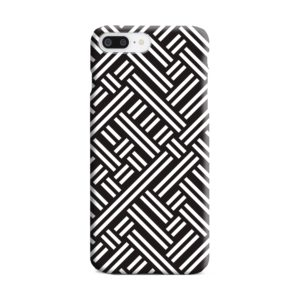 Monochrome Geometric Patterns iPhone 8 Plus Case