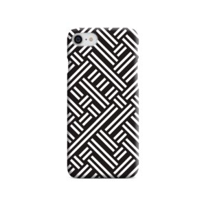Monochrome Geometric Patterns iPhone SE Case Cover