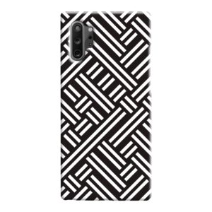 Monochrome Geometric Patterns Samsung Galaxy Note 10 Case Cover