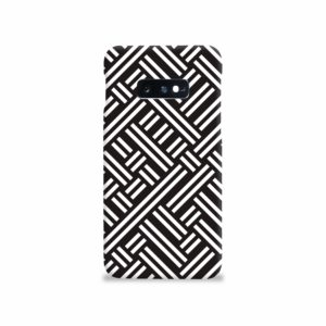 Monochrome Geometric Patterns Samsung Galaxy S10e Case Cover