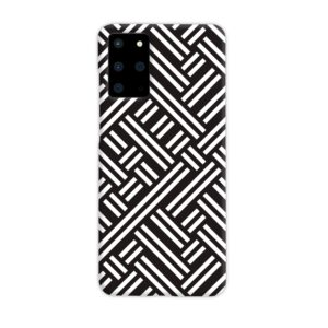 Monochrome Geometric Patterns Samsung Galaxy S20 Plus Case