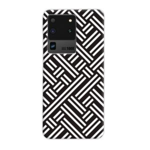 Monochrome Geometric Patterns Samsung Galaxy S20 Ultra Case