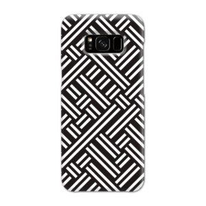Monochrome Geometric Patterns Samsung Galaxy S8 Case Cover