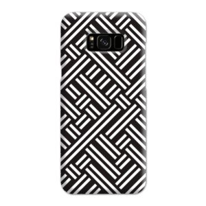 Monochrome Geometric Patterns Samsung Galaxy S8 Plus Case