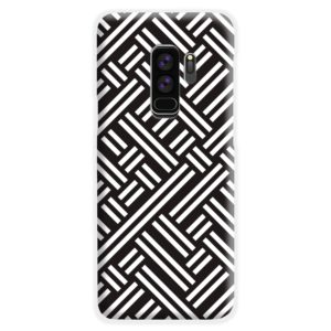Monochrome Geometric Patterns Samsung Galaxy S9 Plus Case