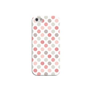 Pink Polka Dots Pattern iPhone 5 Case Cover