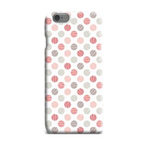 Pink Polka Dots Pattern iPhone 6 Plus Case