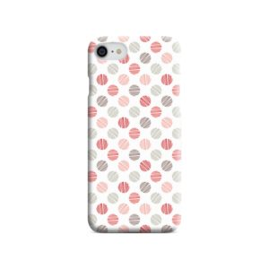 Pink Polka Dots Pattern iPhone 7 Case