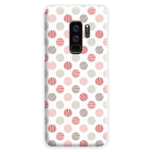 Pink Polka Dots Pattern Samsung Galaxy S9 Plus Case Cover
