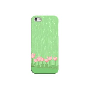Pink Tulip Flowers iPhone 5 Case