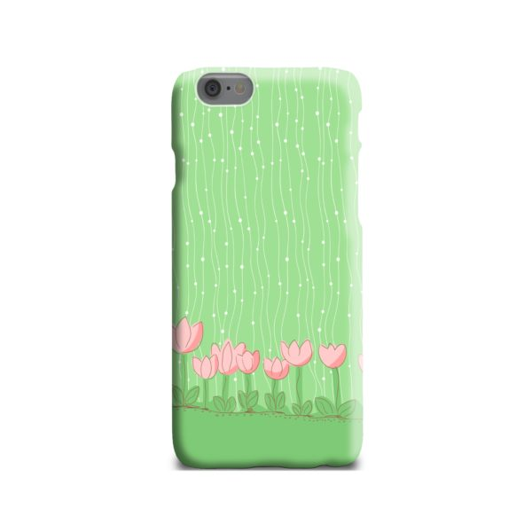 Pink Tulip Flowers iPhone 6 Case Cover