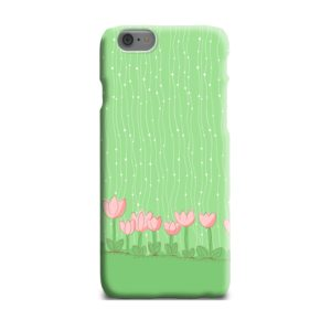Pink Tulip Flowers iPhone 6 Plus Case Cover