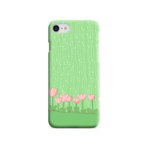 Pink Tulip Flowers iPhone 7 Case Cover