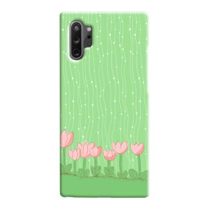 Pink Tulip Flowers Samsung Galaxy Note 10 Case