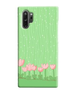 Pink Tulip Flowers Samsung Galaxy Note 10 Plus Case Cover