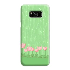 Pink Tulip Flowers Samsung Galaxy S8 Plus Case