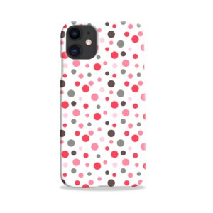 Pretty Polka Dots Pattern iPhone 11 Case