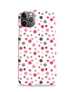 Pretty Polka Dots Pattern iPhone 11 Pro Case Cover