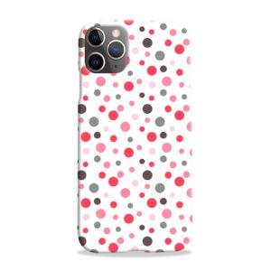 Pretty Polka Dots Pattern iPhone 11 Pro Max Case