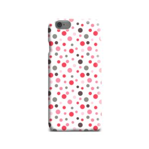Pretty Polka Dots Pattern iPhone 6 Case