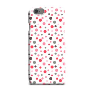 Pretty Polka Dots Pattern iPhone 6 Plus Case