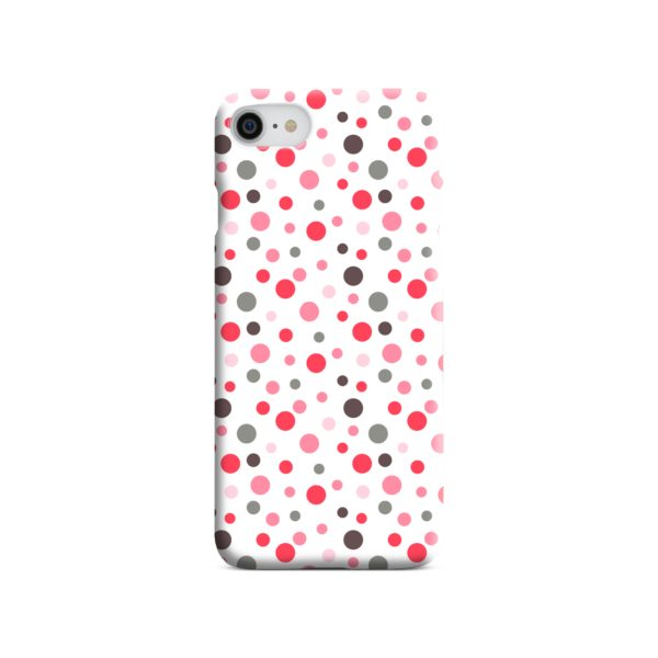 Pretty Polka Dots Pattern iPhone 8 Case Cover