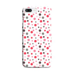 Pretty Polka Dots Pattern iPhone 8 Plus Case
