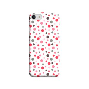 Pretty Polka Dots Pattern iPhone SE Case