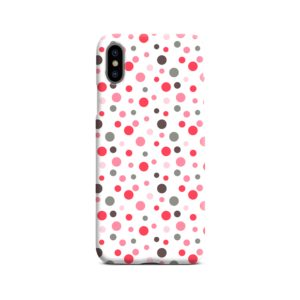 Pretty Polka Dots Pattern iPhone X / XS Case