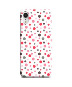 Pretty Polka Dots Pattern iPhone XR Case Cover