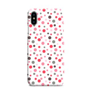 Pretty Polka Dots Pattern iPhone XS Max Case