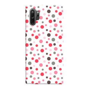 Pretty Polka Dots Pattern Samsung Galaxy Note 10 Case