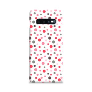 Pretty Polka Dots Pattern Samsung Galaxy S10 Plus Case Cover