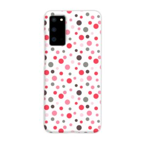 Pretty Polka Dots Pattern Samsung Galaxy S20 Case Cover