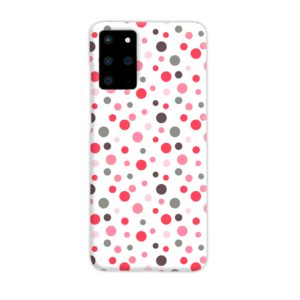 Pretty Polka Dots Pattern Samsung Galaxy S20 Plus Case