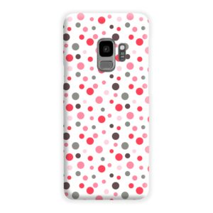 Pretty Polka Dots Pattern Samsung Galaxy S9 Case Cover