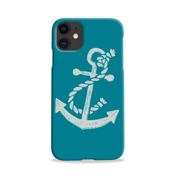 Ship Anchor Sea Vintage Art iPhone 11 Case Cover