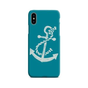 Ship Anchor Sea Vintage Art iPhone X / XS Case Cover