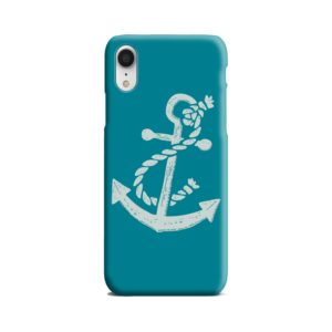 Ship Anchor Sea Vintage Art iPhone XR Case