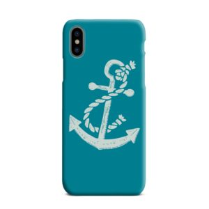 Ship Anchor Sea Vintage Art iPhone XS Max Case